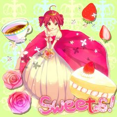 Vocaloid: Teto from Album Sweets!