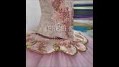 Costume for Dance of the Sugar Plum Fairy from The Nutcracker by Pegeen.com Style 782