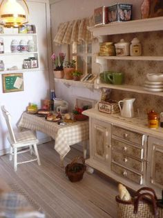 133 best dollhouse kitchen images miniature kitchen mini kitchen rh pinterest com