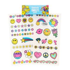 Smiley Love & Peace Emoji Stickers