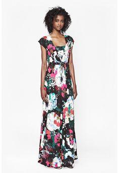 Floral Reef Maxi Dress