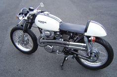 Honda CL350 Cafe Racer | 68 Honda CL350 custom cafe racer. Nice. | Want List