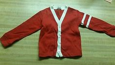 Vintage 60's Girl's Rob Roy Tapered Button Up Sweater 5T