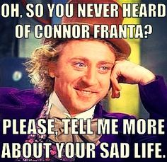 Connor Franta fans hot heart | We Heart It | funny, lol, and o2l