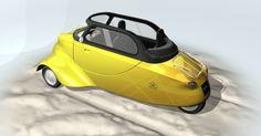 The Smite – a modern reincarnation of the classic Messerschmitt bubble car - Lambrettista