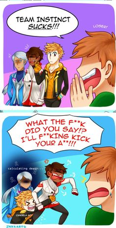 Never insult Spark in front of Blanche or Candela!
