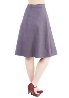 Chambray of Sunshine Skirt | Mod Retro Vintage Skirts | ModCloth.com