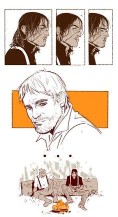 Arthur and John Dead Red Redemption 2, Avatar, Read Dead, Rdr 2, Cartoon Books, Funny Art, Manga, Game Art, Memes