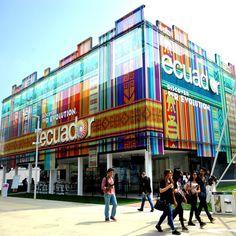 Oggi a #Expo2015 festeggiamo il National Day del Padiglione @ecuexpomilan!  Today at #Expo2015 we celebrate the National Day of @ecuexpomilan Pavilion!