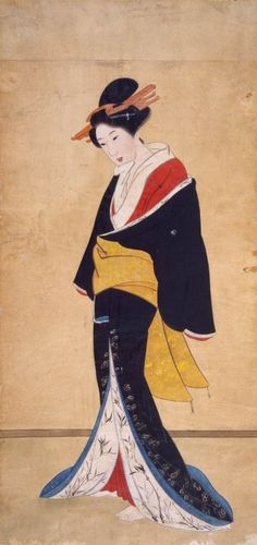 traditional geisha on scroll - Google Search