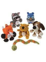 Little crochet animals