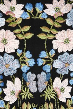 Stella McCartney flower embroidery