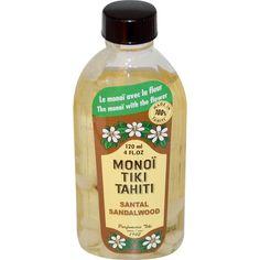 Monoi Tiare Tahiti, Monoï Tiki Tahiti, Sandalwood, 4 fl oz (120 ml) - iHerb.com