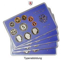 Bundesrepublik Deutschland, Kursmünzensatz 1992, ADFGJ, komplett, PP: Kursmünzensatz 1992 ADFGJ, komplett. Polierte Platte 45,00€ #coins