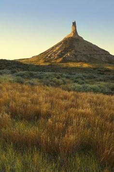 Chimney Rock, One Of Nebraskau0027s Most Recognizable Landmarks. Photo Courtesy  Nebraska Tourism