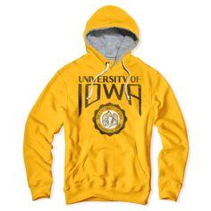 Iowa Crest Men's Hoodie