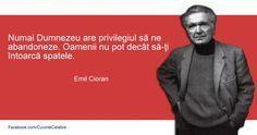 Emil Cioran despre Dumnezeu