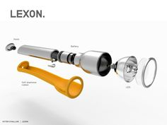 LEXON POCKET LAMP on Behance
