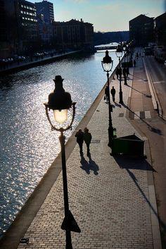 Canal de l'Ourcq, Paris 19e - a découvrir à pied ou en bateau