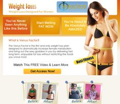 What is the venus factor-It works for me?  Venus Factor system, developed by John Barban is a brand new weight loss program to help women lose excess fat in a short period of time. A comprehensive review of the system on the site of Venus Venusfactor