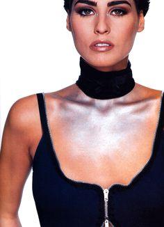Gilles Bensimon for Elle magazine, February 1992. Clothing by Martin Margiela.