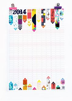 2020 Wall Planner, Large Wall Calendar with 12 Unique Pattern Designs Large Wall Calendar, Wall Planner, Home Binder, Happy New Years Eve, Day Planners, Planner Organization, Cool Walls, Pattern Design, Stationery