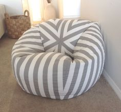 What a fantastic way of jazzing up your room. This bean bag looks great in just about any room in the house. It adds a splash of colour and interest to the room and it is even practical and functional!  So many colours to choose from!  Small size is measures approx 70cm wide x 60cm high. Suitable for up to approx 7 years. Takes 150 litres of beans Medium size Bean Bag measures approx 85cm wide x 90cm high when filled and held at the tip of the bag. Suitable up to Teenagers. Takes 250 litres…