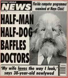 List Of The Day Weekly World News Covers Of The Day Funny News Headlines