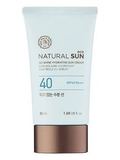 The Face Shop Natural Sun Eco Sebum Control Moisture Sun SPF 40 PA+++ ❤ The Face Shop