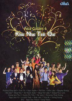 NHẠC SƯU TẦM: Chương Trình Ca Nhạc Asia Golden 4 : Khúc Nhạc Tìn...
