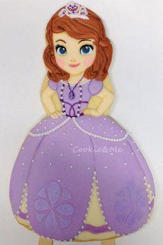 Princess Sofia cookie