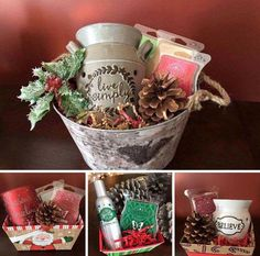 SCENTSY CHRISTMAS GIFT BASKETS!!! Name your price, warmer, scent & style & I'll do the rest!