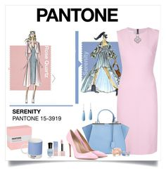 Pantone by laaudra-rasco on Polyvore featuring polyvore, fashion, style, Narciso Rodriguez, Gianvito Rossi and Sephora Collection