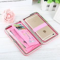 17bcb2b59831 Jual Dompet Wanita Clutch HP Handphone Cewek Stylist Case iPhone di lapak  21 Home Decoration