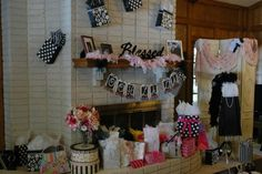 French Bridal Shower Ideas | happy to report that the Ooh La La Lingerie Shower we threw for my ...