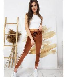 Tehlové dámske velúrové nohavice Mia Sport, Pants, Products, Fashion, Trouser Pants, Moda, Deporte, Fashion Styles, Sports