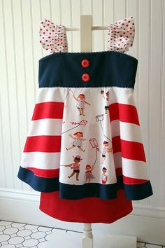 Such a girl patriotic outfit by iveyc95, via Flickr