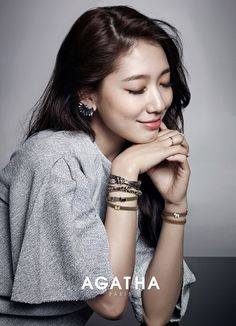 Agatha Paris Unveils Some More F/W 2014 Ads Feat. Park Shin Hye | Couch Kimchi