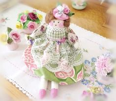 Hey, I found this really awesome Etsy listing at https://www.etsy.com/listing/96394911/spring-ooak-art-doll-petite-cloth-doll