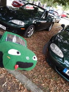 This little, cute Miata plush visit a MX-5 meeting in Budapest. If you want some plush, visit us in the facebook. Hungarian Bear Forces.