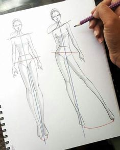 Fashion Sketchbook Drawings Inspiration 36 Ideas Source by fashion drawing Fashion Drawing Tutorial, Fashion Figure Drawing, Fashion Model Drawing, Fashion Illustration Poses, Fashion Illustration Template, Illustration Mode, Fashion Design Sketchbook, Fashion Design Drawings, Sketch Fashion