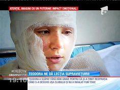 Andreea Berecleanu a plâns după ce i-a luat interviu Teodorei, una dintre supravieţuitorii infernului din Colectiv   Observator.tv