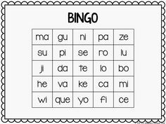Free BINGO games in Spanish! The download has letter sounds, open syllables, syllables with blends, and closed syllables (sonidos, sílabas abiertas, sílabas trabadas, sílabas cerradas).