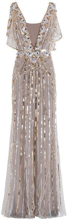 TEMPERLEY LONDON Sequin Gown dressmesweetiedarling Featured @ www.partyz.co your party planning search engine!