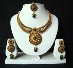 Collection of Necklaces by Diva Jewellery. Complete Collection Available at: http://www.indiebazaar.com/shop/diva/jewellery-sets