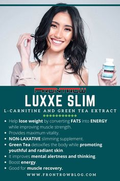 Luxxe Slim is the best weight loss supplement. It helps transport fatty acids into energy, improved muscle strength, and maximum vitality. Best Weight Loss Supplement, Weight Loss Supplements, Help Losing Weight, Lose Weight, Health And Beauty, Health And Wellness, Muscle Function, Health Organizations, Muscle Recovery
