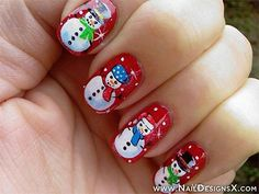 Holiday nail art is very special for festival celebrations. Here are the 9 best holidays inspired nail art designs that makes to signifying the holiday season. Christmas Nail Art Designs, Holiday Nail Art, Winter Nail Designs, Winter Nail Art, Nail Polish Designs, Winter Nails, Christmas Manicure, Xmas Nails, New Year's Nails