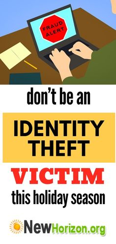 Credit Card Tips - Dont Be an Identity Dont Be an Identity Theft Victim This Holiday Season Interest Free Credit Cards, Interest Calculator, Identity Theft Protection, Seasons, Holiday, Tips, Vacations, Seasons Of The Year, Holidays Events