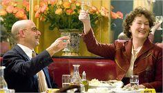 'Julie and Julia'.(Stanley Tucci & Meryl Streep) were fantastic as the Childs' (Paul & Julia) Meryl Streep, Chris Messina, Vicky Cristina Barcelona, Stanley Tucci, Billy Crystal, Julia Childs, Nora Ephron, Abigail Breslin, Simon Pegg