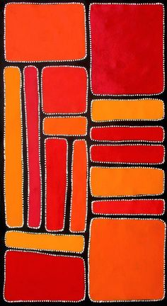 Aboriginal Art by Sally Clark 62cm x 113cm | eBay
